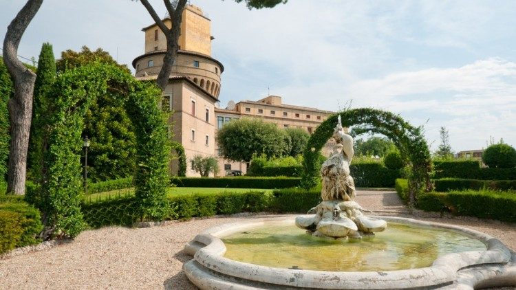Apostolic Palace in Castel Gandolfo