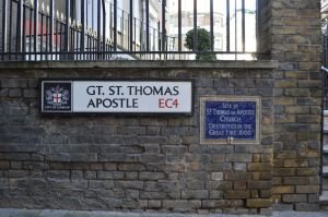 City of London street signs