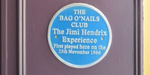 Jimi Hendrix blue plaque