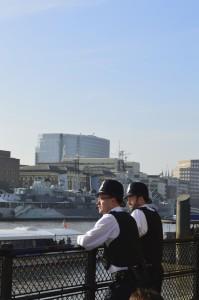 london policemen