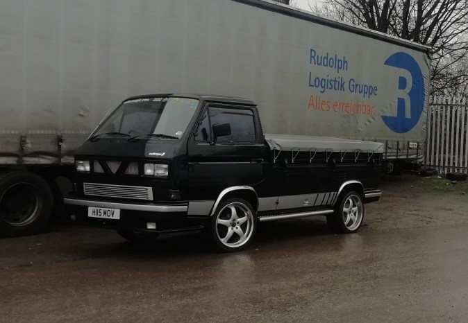 1990 volkswagen T25 pickup with a water-cooled 1.9 dg engine