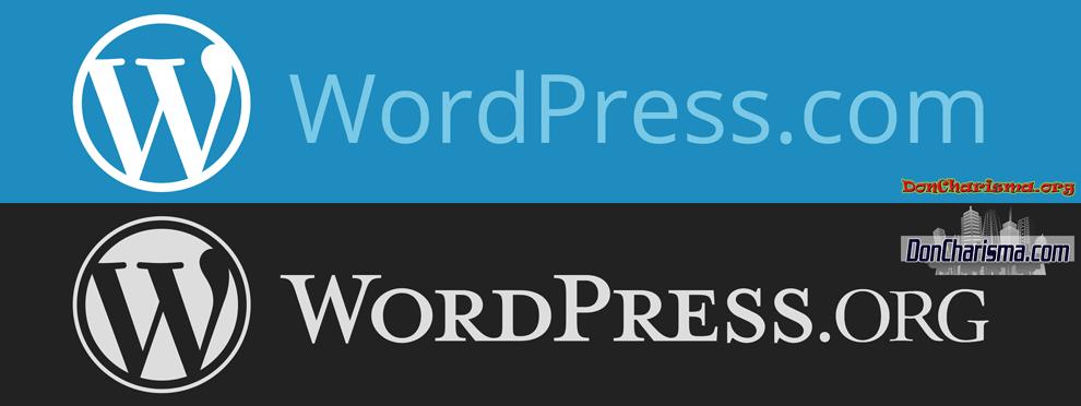 DonCharisma.com-WordPress.org-WordPress.com-Logos