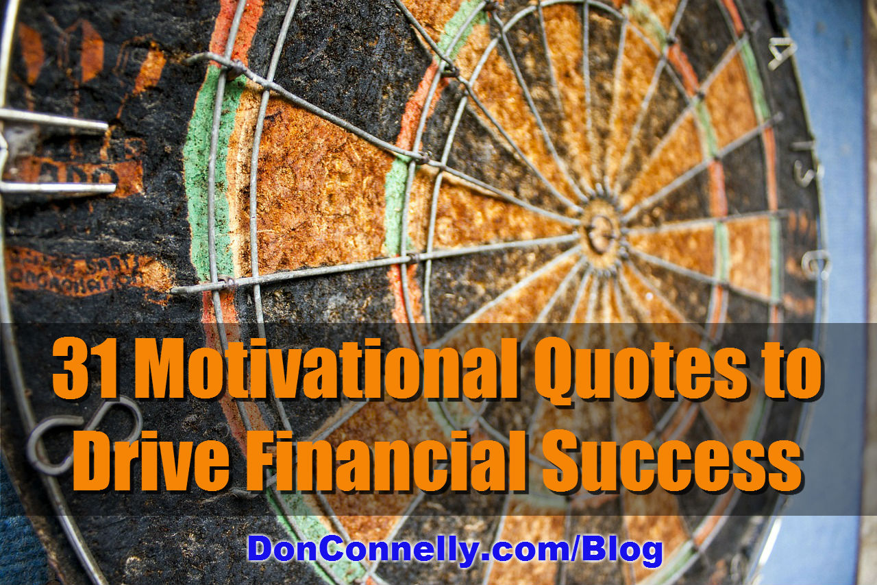 31 Motivational Quotes to Drive Financial Success | Don