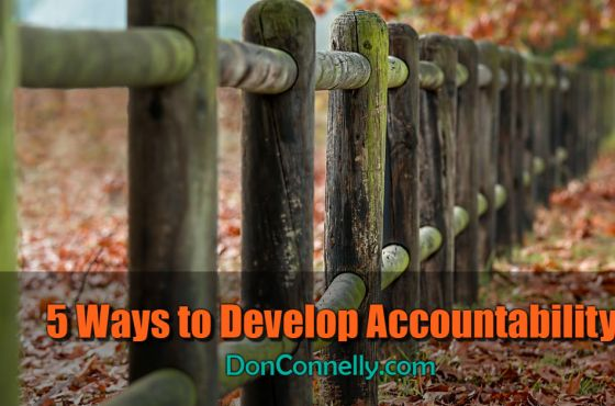 5 Ways to Develop Accountability