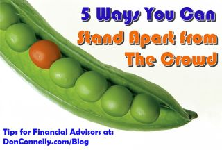 Five Actionable Ways You Can Stand Apart from The Crowd