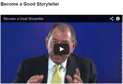 See Your Presentation Through - Become a Good Storyteller