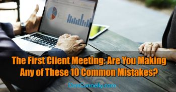 The First Client Meeting - 10 Common Mistakes