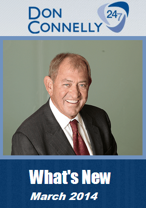What's New Don Connelly 24/7 March 2014
