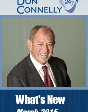 What's New Don Connelly 247 March 2015