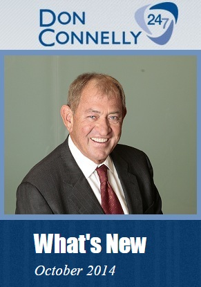 What's New Don Connelly 247 October 2014