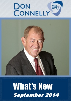 What's New Don Connelly 247 September 2014