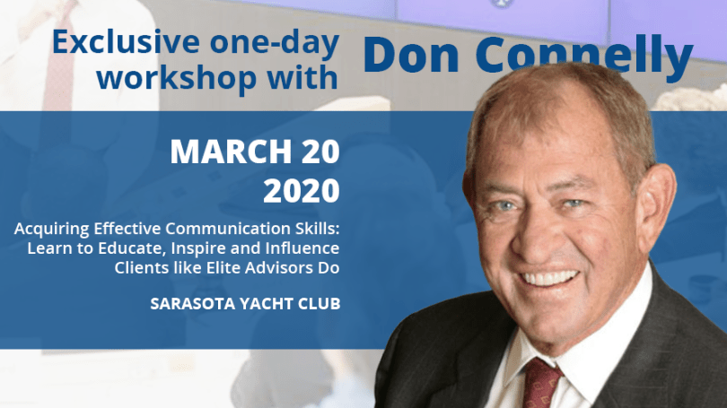 Full-day workshop with Don Connelly - March 20, 2020