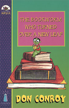 The Bookworm Who Turned Over a New Leaf book cover