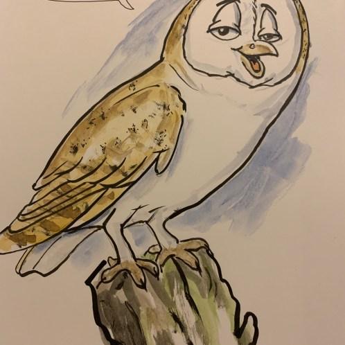 Best Version Barn Owl