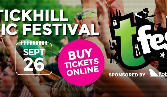 Check OUT who's headlining this years @TickhillTfest #Doncasterisgreat #DoncasterCreatives