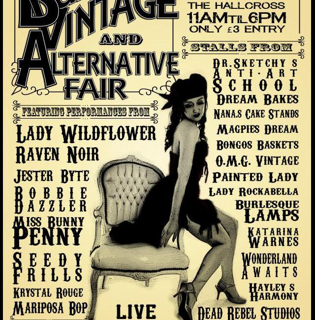 Tawny Kay's  Vintage a Burlesque Fair at the Hallcross pub