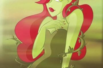 DC Comics, Fan Art, Sexy, Pinup Art, Poison Ivy