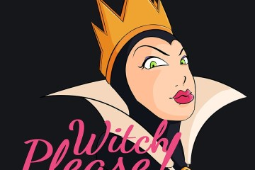 """Halloween Shirt of Snow White Queen """"Witch Please!"""" Bitch Please One Liner Design"""