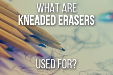 What Are Kneaded Erasers Used For - by Don Corgi