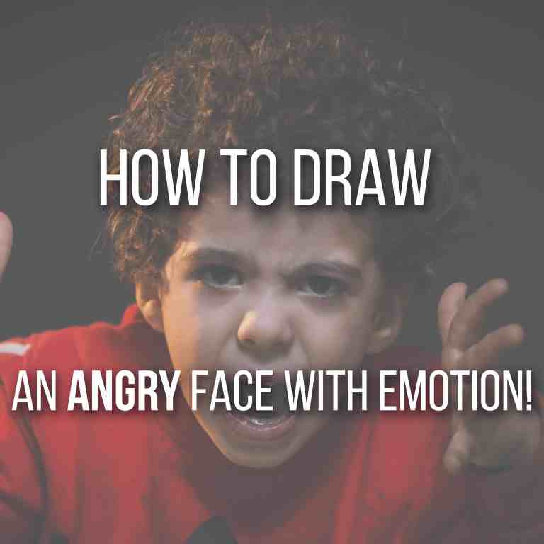Learn How to Draw an Angry Face with Emotion! by Don Corgi