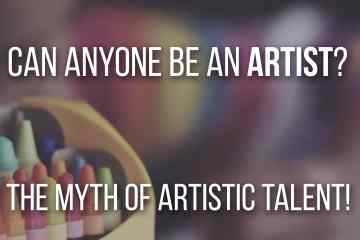 Can Anyone Be An Artist? The Myth of Artistic Talent. Here's what you need to know, to improve your art skills if you want to be a professional or hobbyist artist! - Don Corgi