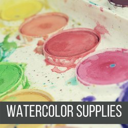 Recommended Watercolor Supplies that any artist level can use for the rest of their lives! by Don Corgi