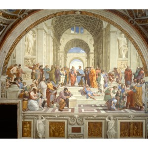 The School of Athens by Raphael, a great example of why Perspective is important in drawing.