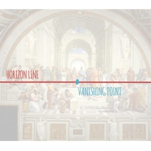 Horizon Line and Vanishing Point, two major components of perspective drawing, learn them, master them!