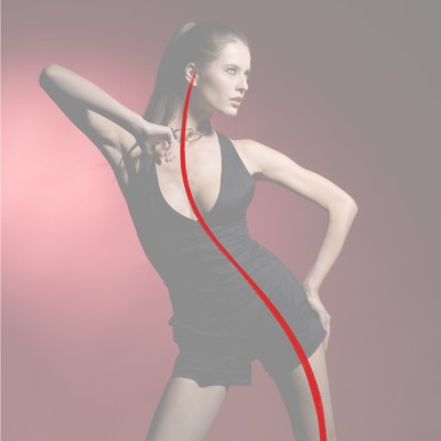 Start with the Line of Action when creating your Gesture Drawing! This line will give balance to the overall pose