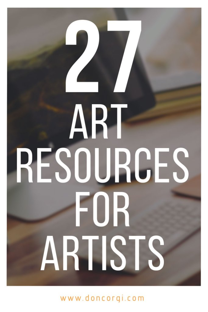 27 Art References and Resources - The best resources for artists around the web and offline.