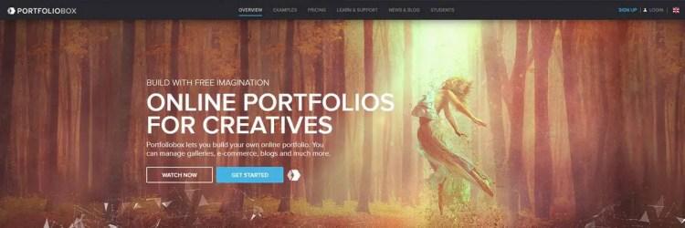 Portfoliobox is more than a simple artwork portfolio website, you can add blog posts!