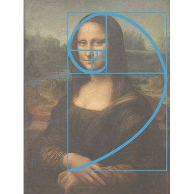 The Golden Ratio is super important in art composition, here's an example with Mona Lisa.