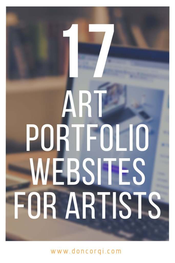 There are many art Portfolio Websites around, both free and paid. Here are my top picks of 17 Art Portfolio Websites for Artists that you must check out!