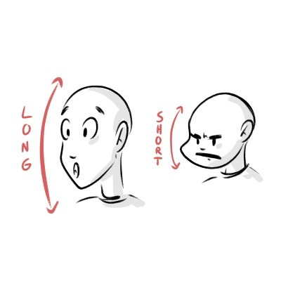 Depending on the expressions your character is making, the face will move accordingly!