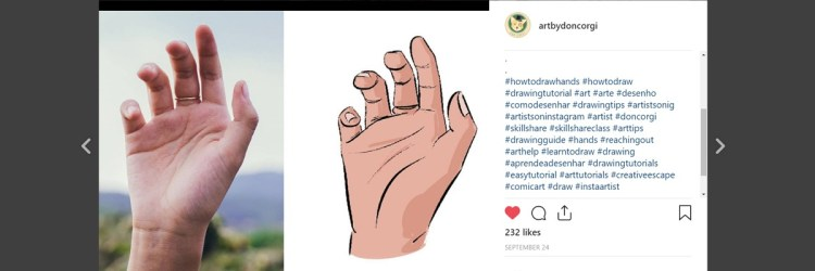 Here's an example of how you can reach more people in Instagram as an Artist by using Instagram Hashtags.
