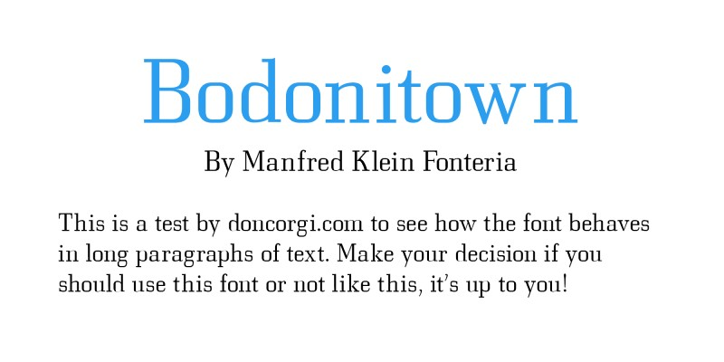 Bodonitown