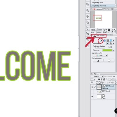 Outlining your text is a bit weird in clip studio paint, but there are ways, like this one!