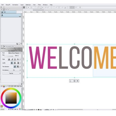 Changing text color in clip studio paint is actually pretty easy, here's how!