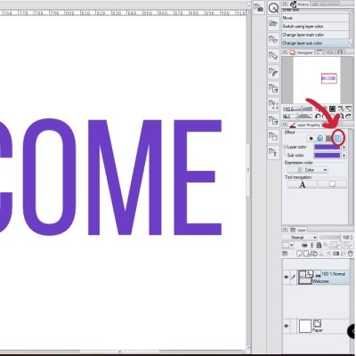 Here's another way you can use to change your text color in csp.