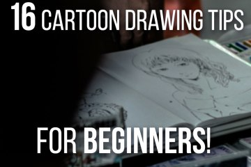 16 Best Cartoon Drawing Tips For Beginners - Improve your cartoon drawings today with these tips and tricks!