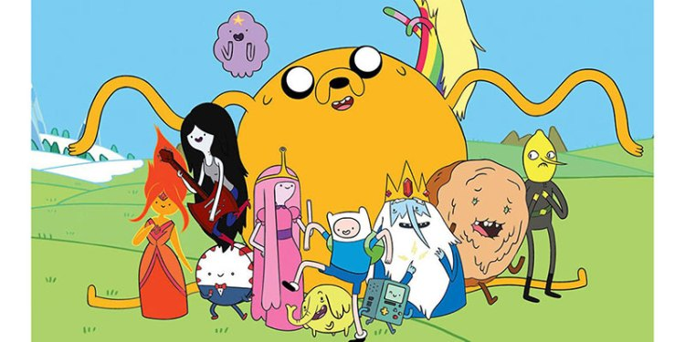 Adventure Time is one example of a modern art style with huge success!