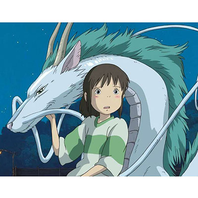 Hayao Miyazaki's art style has very thin lines and is easily recognizable!