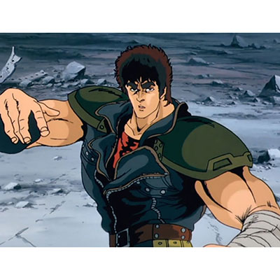Fist Of The North Star's characters have a very super-human like proportions!
