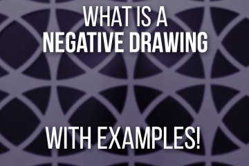 What Is A Negative Space Drawing With Example Images!
