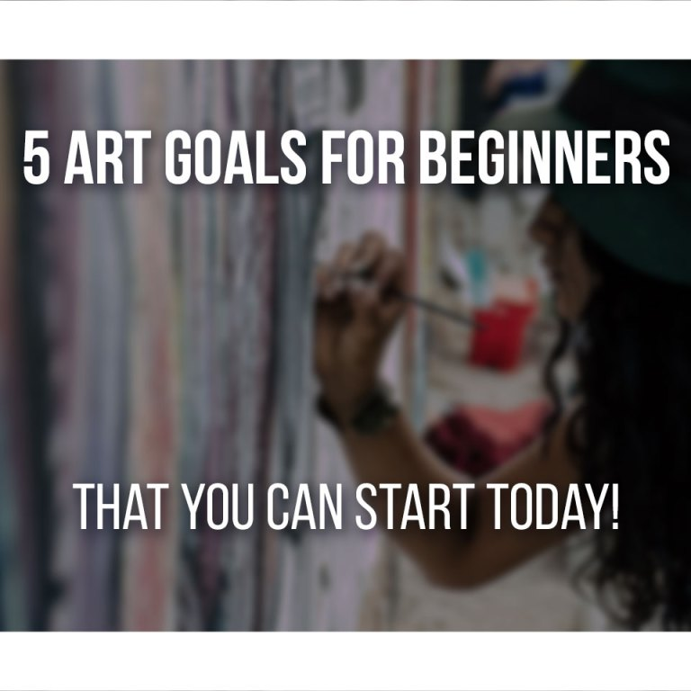 art goals for beginners, cover image
