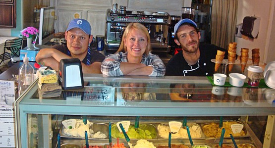 When in San Miguel, do as the Romans do. Do gelato!