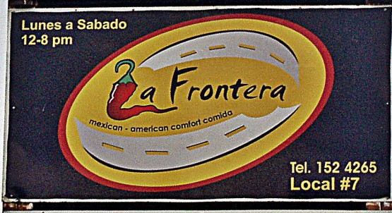 You don't have to be Jewish to love La Frontera.