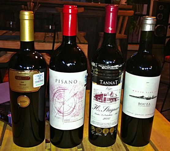 Tannat, the wine. Tannat, the restaurant. Tasty stuff.