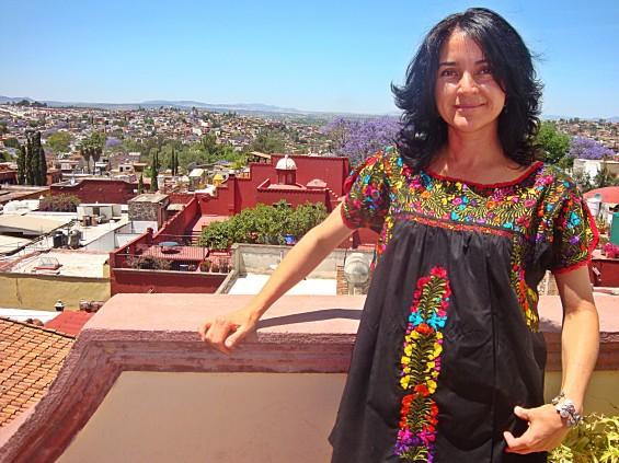 The woman who built the best restaurant in San Miguel de Allende.