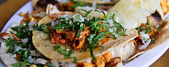Tacos al pastor. A religious experience in San Miguel de Allende.